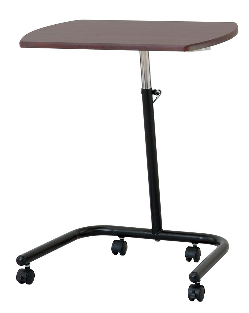 キャスター付きで移動もラクラク 天板高さ 角度可変式のコンパクトテーブル キャスターテーブル メーカー在庫限り品 正規激安 プロジェクター台 プロジェクターデスク ノートパソコンデスク FDC-202DM ノートパソコン台