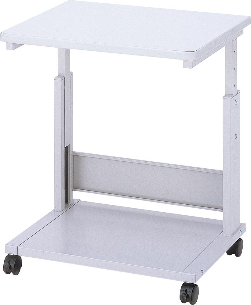 レーザープリンタテーブル デスクキャビネット デスクワゴン オフィスキャビネット オフィスワゴン サイドテーブル サイドキャビネット サイドワゴン スチール ロック式キャスター付き PTL-301N
