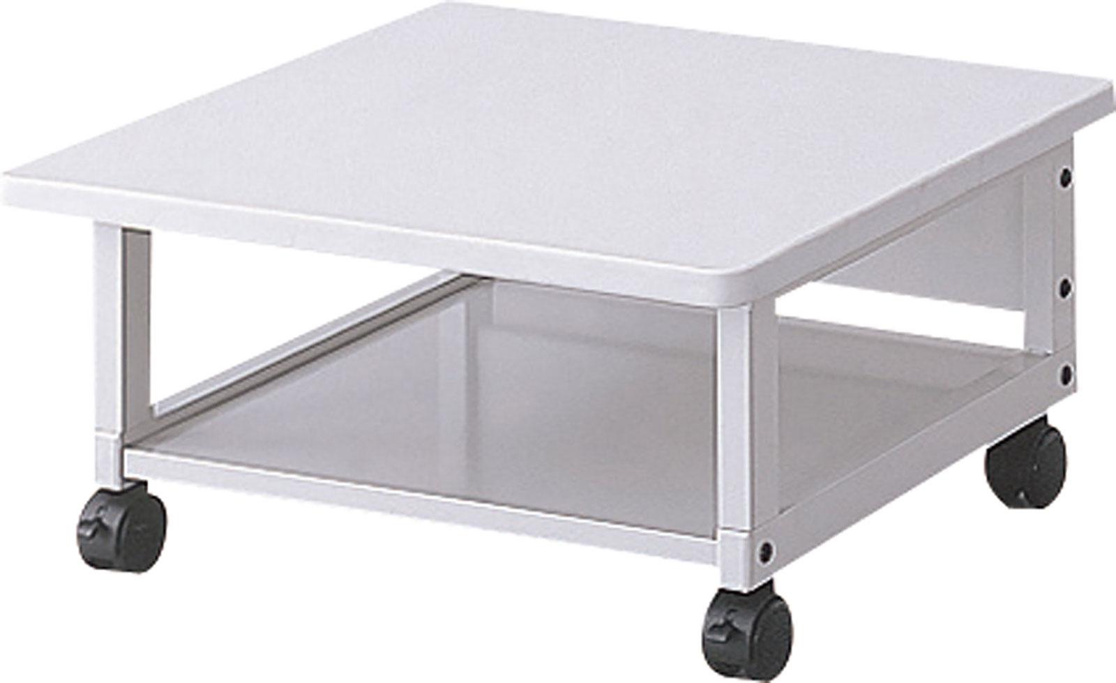 レーザープリンタテーブル デスクキャビネット デスクワゴン オフィスキャビネット オフィスワゴン サイドテーブル サイドキャビネット サイドワゴン スチール ロック式キャスター付き PTL-202N