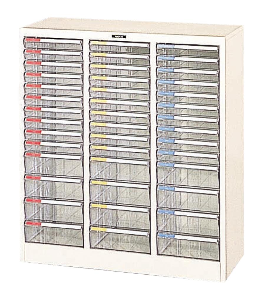 収納ボックス フロアケース 書類ボックス 収納ケース 書類ケース 引き出し 書類収納 スチール A4-42P