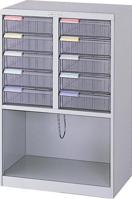 収納ボックス フロアケース 書類ボックス 収納ケース 書類ケース 引き出し 書類収納 スチール MAF-W112N