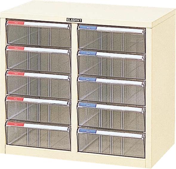 収納ボックス レターケース 書類ボックス 収納ケース 書類ケース 引き出し 書類収納 スチール LC-M10P