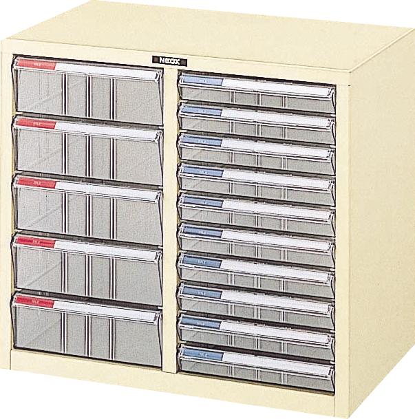 収納ボックス レターケース 書類ボックス 収納ケース 書類ケース 引き出し 書類収納 スチール LC-M15P