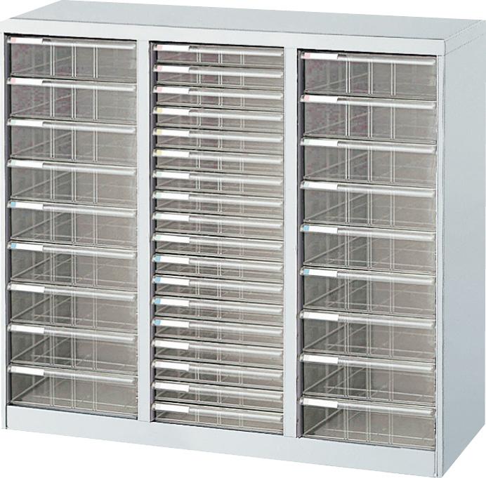収納ボックス フロアケース 書類ボックス 収納ケース 書類ケース 引き出し 書類収納 スチール AF-C36 ニューグレー