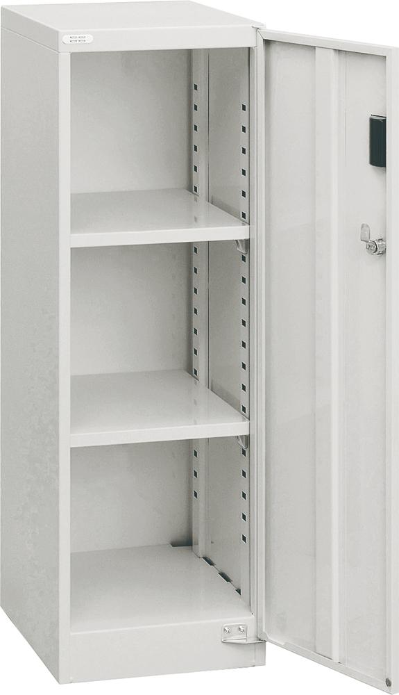 AF-ST2 スチール 収納ボックス 書類ケース 書類ボックス フロアケース 書類収納 収納ケース 引き出し ニューグレー 鍵付き