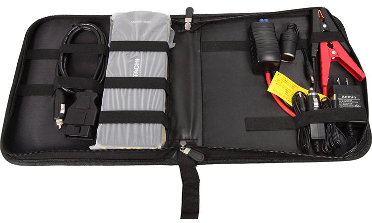 """在日立跳躍啟動器""""手提式功率沙司PPS-18000""""車的電池儲值·備用電源、智慧型手機充電![12V專用的]"""