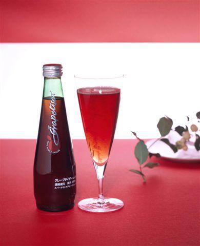24 グレープタイザー (red) 275 ml pot Motoiri [アップルタイザー company grape taste grape pop]