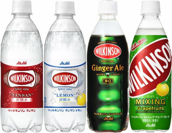 24 assorted 500 ml of four kinds of *6 Asahi Wilkinson pet set [Wilkinson tongue sun lemon ginger ale Motoiri carbonated drink]