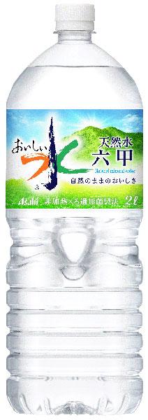 Water] of delicious water soft water Rokko of 6 *4 water Rokko 2L pet Motoiri bulk buying [mineral water Rokko where Asahi is delicious