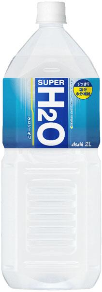 6 *2 Asahi supermarket H2O 2L pet Motoiri bulk buying [SUPER H2O heat stroke measures]