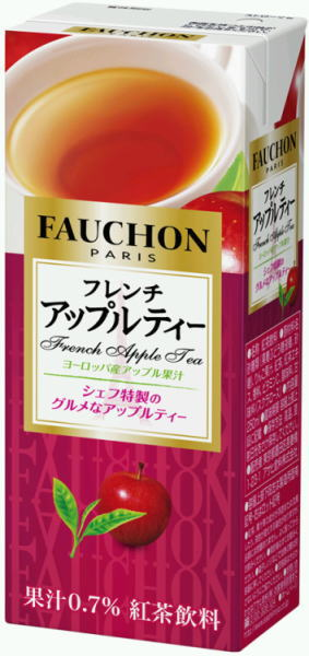 Fauchon French Apple tea 250 ml paper pack 24 pieces [Tyson shoboi I Chan Tea Tea Apple apples FAUCHON]