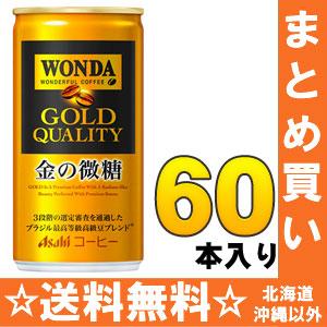 30 *2 canned 185 g of slight sugar Motoiri bulk buying [Wanda canned coffee] of the money of Asahi WONDA