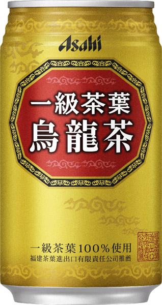 Asahi first grade tea leaves using oolong tea 340 g cans 24 pieces [oolong tea tea]