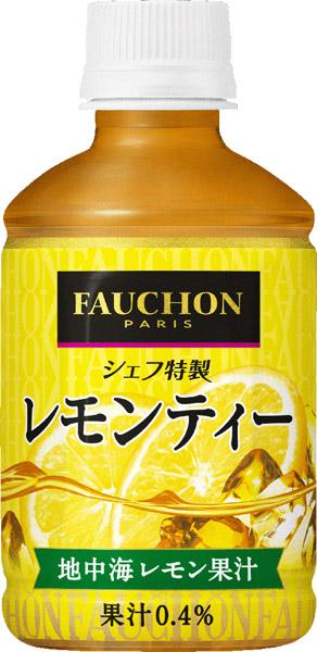 Asahi Fauchon chef special lemon tea 275 ml pet 24 pieces [Fauchon.