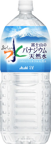 Asahi Fuji vanadium natural water 2 L pet 6 pieces []