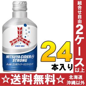 Asahi mitsuya cider all zero 300 ml bottle cans 24 pieces [zero sugar zero zero preservatives.