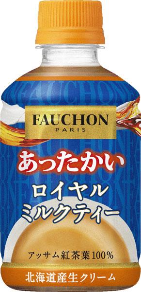 朝日 Fauchon 温牛奶豪华剪裁 280g 宠物 24 件 [FAUCHON 奶茶和热茶。