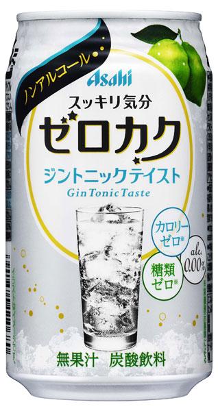 Asahi ゼロカク ジントニックテイスト 350 ml cans 24 pieces [non-alcoholic cocktails 0.00% zero sugar zero]
