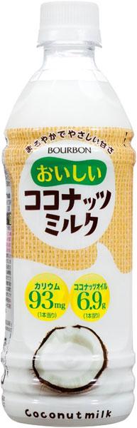 Bourbon delicious coconut milk 490 ml pet 24 pieces