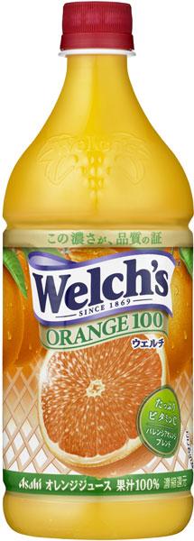 Calpis Welch's Orange 100 800 g pet 8 pieces [Welch Orange Orange Orange juice]