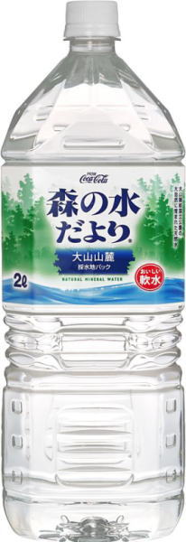 Coca Cola morino Mizu dayori (large Piedmont) 2 L pet 6 pieces x 2 together buy [mineral]