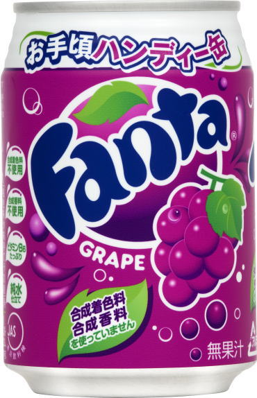 Canned 280 ml of Coca-Cola Fanta grapes 24 Motoiri *2 bulk buying [Coca-Cola soda grape taste]