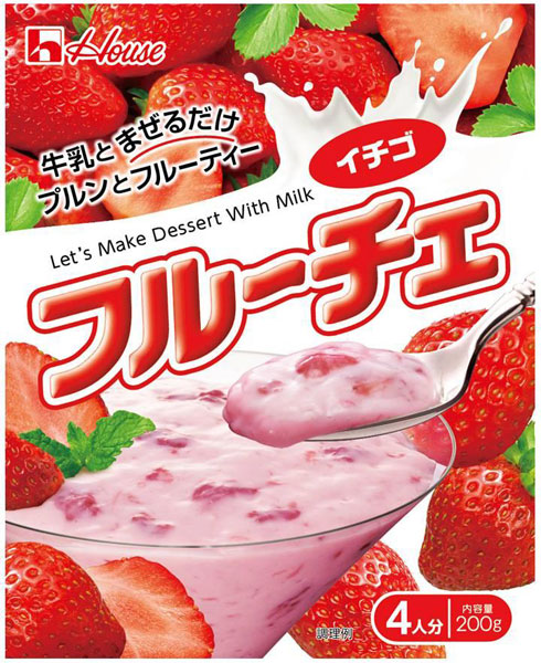 200 g of how staple fiber roux Che strawberries 60 case [dessert base ふるーちぇいちご strawberry strawberry taste]