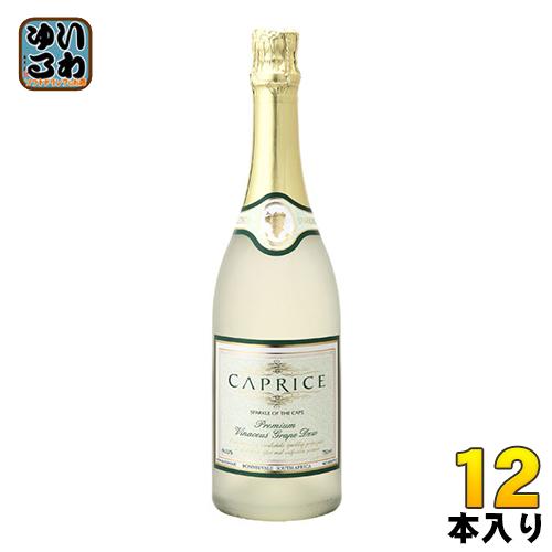 パナバック カプリース ノンアルコールスパークリングワイン 750ml 瓶 12本入〔ノンアルコールスパークリングワイン〕