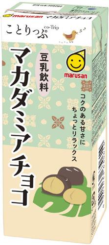 マルサン ことりっぷ 豆乳飲料 マカダミアチョコ 200ml 紙パック