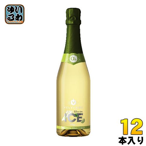 湘南貿易 ヴィンテンスアイス・フーゴ 750 ml 瓶 12本入〔ノンアルコールワイン 炭酸 スパークリング モクテル〕