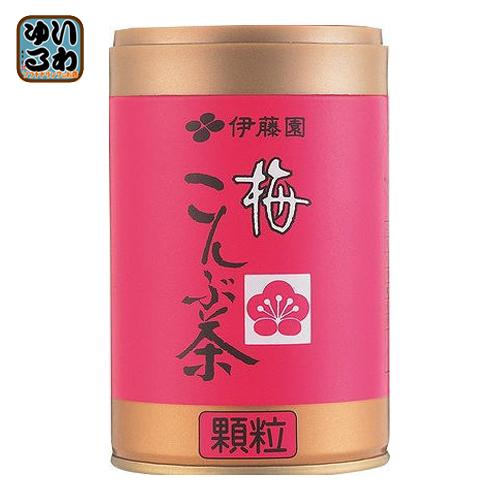 〔クーポン配布中〕 伊藤園 梅こんぶ茶 50g 缶(25.0g×2袋) 40本 (20本入×2 まとめ買い)