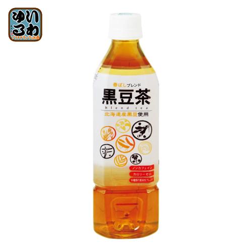 盛田 ハイピース ノンカフェイン 黒豆茶 500ml ペットボトル 48本 (24本入×2 まとめ買い)〔ノンカフェイン くろまめ茶〕
