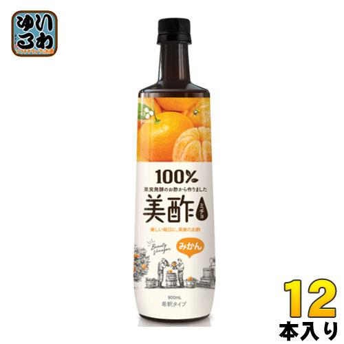 送料無料 一部地域除く CJジャパン 美酢 ミチョ 即納送料無料 買取 ボトル みかん 12本入 900ml