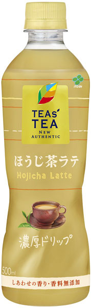 Japanese wisteria garden TEAS'TEA tees tee new authentic roasted latte 450 ml pet 24 pieces [TEAS'TEA NEW AUTHENTIC hojicha Japanese tea leaves with milk.
