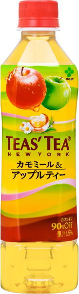 Japanese wisteria garden TEAS'TEA t's tea Chamomile & Apple tea 500 ml pet 24 pieces [tea-flavored tea.