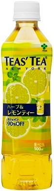 Sono Ito TEAS'TEA Tees tea herb & tea with lemon 500 ml pet 24 Motoiri [tea]