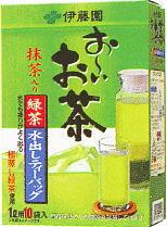 Is, and hold tea powdered green tea Ito En, Ltd. ...; ten bags of *20 1,000 ml of getting out water green tea 1L tea bag treasuring [tea pack]