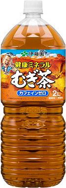 Japanese wisteria garden health mineral mugicha 2 L pet 6 pieces [natural mineral mugicha むぎちゃ barley tea bottles]