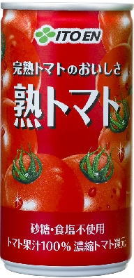 Itoen mature tomato 190 g can 30 pieces [tomato juice.