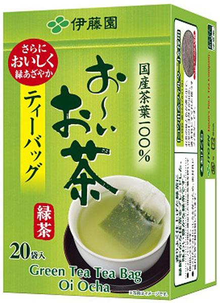 There is Ito En, Ltd. ...; 20 bags of *20 tea bag treasuring [tea pack おーいお tea] for tea green tea cups