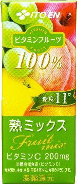 It is 24 200 ml of mixture paper pack Motoiri [] Ito En, Ltd. vitamins fruit carefully