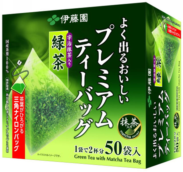 50 bags of *6 green tea treasuring [tea pack] with Ito En, Ltd. premium tea bag powdered green tea