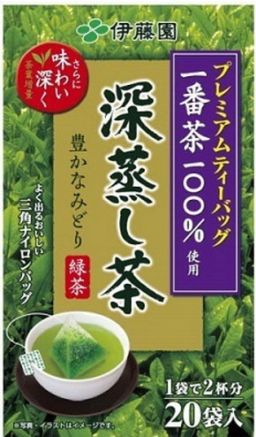 Make Ito En, Ltd. premium tea bag 深蒸; 20 bags of *8 100% of tea treasuring [first tea use green tea tea]