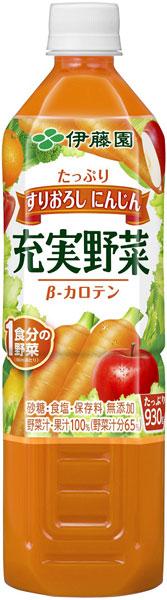 伊藤园充实蔬菜蔬菜混合物930g宠物12本入〔蔬菜果汁果汁混合混合物膳食纤维〕