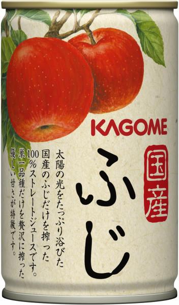 可果美食品国产富士苹果汁160g罐30条装[KAGOME苹果汁苹果汁苹果汁]