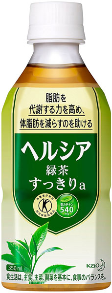 It is 350 ml of 24 pet Motoiri [food for specified health use トクホヘルシヤ] Kao Hel Shea green tea clearly