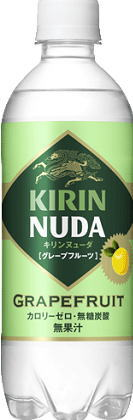 500 ml of 24 *2 giraffe NUDA ヌューダグレープフルーツ pet Motoiri bulk buying [ヌーダヌユーダ carbonated water]