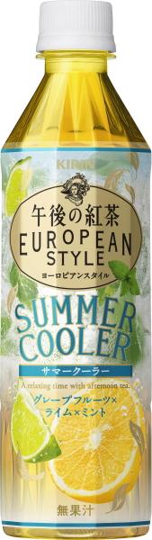 Tea European style summer air conditioner 500 ml pet 24 Motoiri [afternoon tea Tea] of the giraffe afternoon