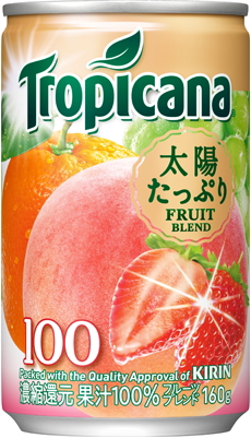 Kirin Tropicana 100% fruit blend 160 g cans 30 pieces []