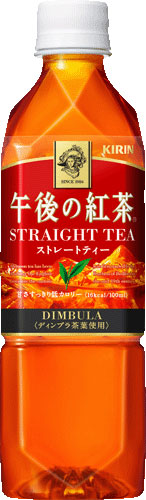 Kirin afternoon tea straight tea 500 ml pet 24 pieces [afternoon tea.